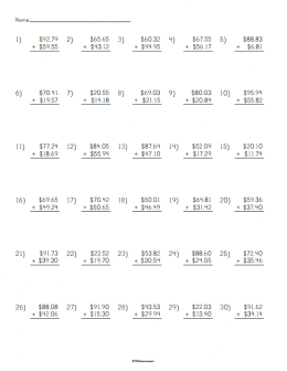 math worksheet : adding money worksheet  stem sheets : Addition Worksheet Maker