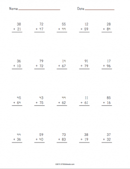 Addition Worksheet icon