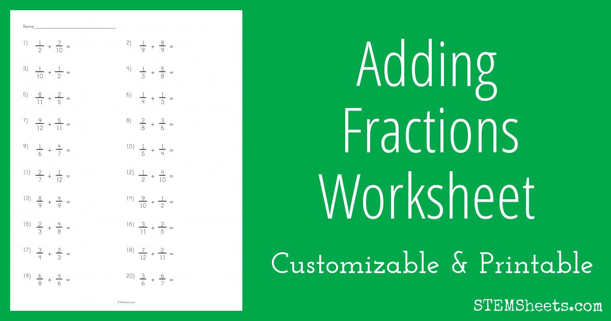math worksheet : adding and subtracting similar fractions worksheets pdf  free  : Adding Fractions Worksheet Pdf