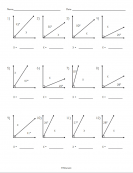 Complementary Angles Worksheet