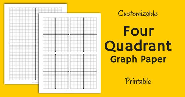 four quadrant graph paper
