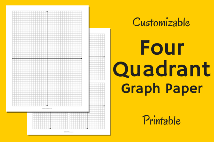 four quadrant graph paper