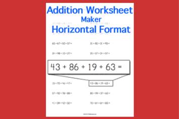 math worksheets flashcards diagrams stem sheets. Black Bedroom Furniture Sets. Home Design Ideas